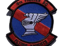 9th Fighter Squadron Flying Knights Patch – Sew On