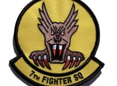 7th Fighter Squadron Patch – Sew On