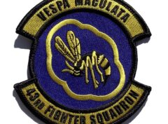 43rd Fighter Squadron Vespa Maculata Patch – Sew On