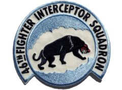 46th Fighter Interceptor Squadron Patch – Sew On
