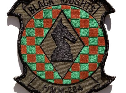 HMM-264 Black Knights (Green) Patch – Sew On