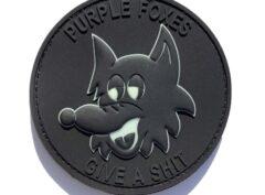 VMM-364 Purple Foxes Blackout PVC