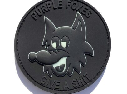 VMM-364 Purple Foxes Blackout PVC