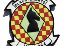 VMM-264 Black Knights PVC Patch – Hook and Loop