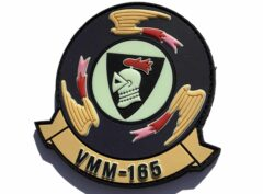 VMM-165 White Knights Throwback PVC Patch – Hook and Loop