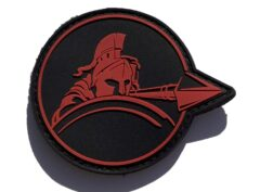 HMLAT-303 PVC Spartan Shoulder Patch – Sew On