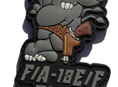 F/A-18 Rhino PVC Patch – Sew On