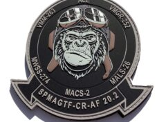 VMM-263 SPMAGTF 20.1 Ready Ape Squadron Patch – Hook and Loop