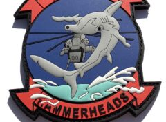 HMH-366 Hammerheads PVC Patch – Hook and Loop