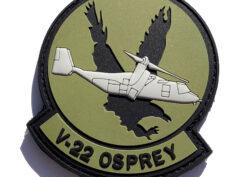 V-22 Osprey Patch PVC Patch – Hook and Loop