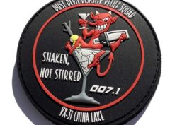 VX-31 Dust Devils China Lake Earthquake PVC Patch