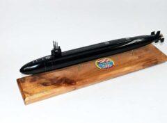 USS Alabama SSBN-731 Submarine Model (Black Hull)