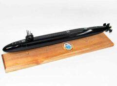 USS Alaska SSBN-732 Submarine Model (Black Hull)