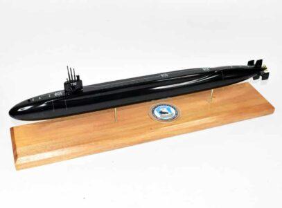 USS Pennsylvania SSBN-735 Submarine Model (Black Hull)