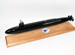 USS West Virginia SSBN-736 Submarine Model (Black Hull)