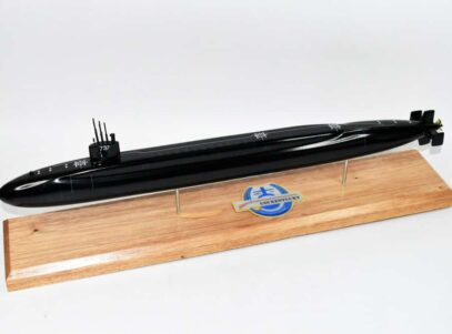 USS Kentucky SSBN-737 Submarine Model (Black Hull)