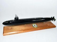 USS Maryland SSBN-738 Submarine Model (Black Hull)