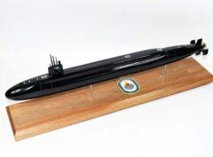 USS Nebraska Big Red SSBN-739 Submarine (Black Hull)