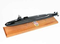 SSGN-726 USS Ohio Submarine Model (Black Hull)