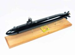 USS Santa Fe SSN-763 (Black Hull) Submarine Model