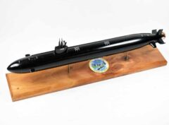 USS Charlotte SSN-766 (Black Hull) Submarine Model