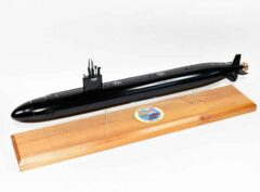 USS Hartford SSN-768 (Black Hull) Submarine Model