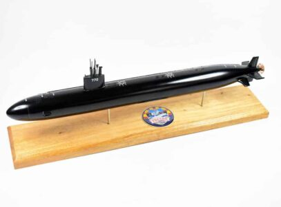 USS Tucson SSN-770 (Black Hull) Submarine Model