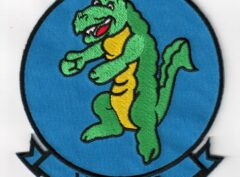VSF-86 Gators Squadron Patch – Plastic Backing