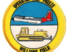 OPERATION DEEP FREEZE WILLIAMS FIELD Patch – Plastic Backing