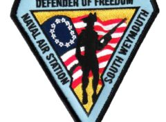 DEFENDER OF FREEDOM Patch – Plastic Backing
