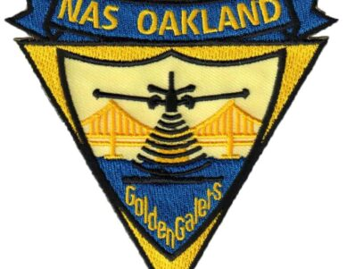 NAS OAKLAND Patch – Plastic Backing