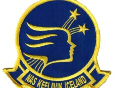 NAS KEFLAVIK ICELAND Patch – Plastic Backing