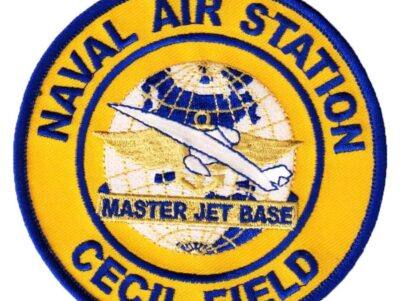 NAVAL AIR STATION CECIL FIELD Patch – Plastic Backing