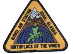Naval Air Station Adak Alaska Patch