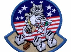 Friday Tomcat Patch – Plastic Backing