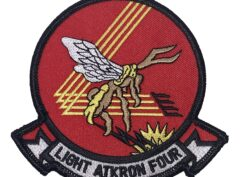 VAL-4 LIGHT ATKRON FOUR Patch – Plastic Backing
