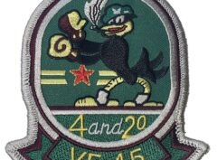 VF-45 4 AND 20 Patch – Plastic Backing