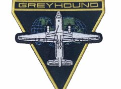 GREYHOUND Patch – Plastic Backing