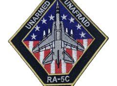UNARMED UNAFRAID RA-5C Patch – Plastic Backing