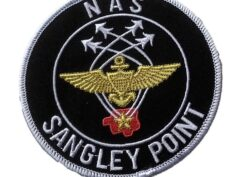 NAS SANGLEY POINT Patch – Plastic Backing