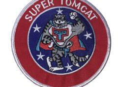 SUPER TOMCAT Patch – Plastic Backing