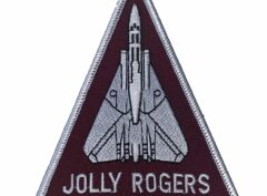 JOLLY ROGERS Patch – Plastic Backing