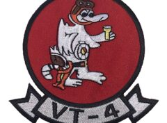 VT-4 Warbucks Squadron Patch – Plastic Backing