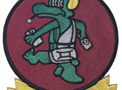 VT-14 Squadron Patch – Plastic Backing
