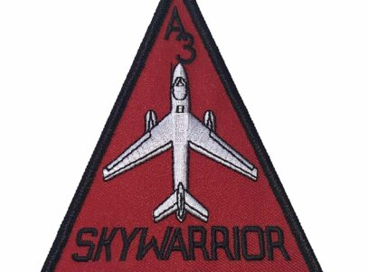 A3 SKYWARRIOR Patch – Plastic Backing