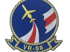 VR-56 Globemasters Squadron Patch – Plastic Backing