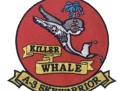 KILLER WHALE A-3 SKYWARRIOR Patch – Plastic Backing
