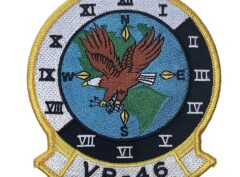 VR-46 Eagles Squadron Patch – Plastic Backing