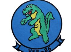 VSF-86 Gators Squadron Patch – Plastic Backing