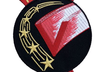 VT-5 FLYING FIVE Squadron Patch – Plastic Backing